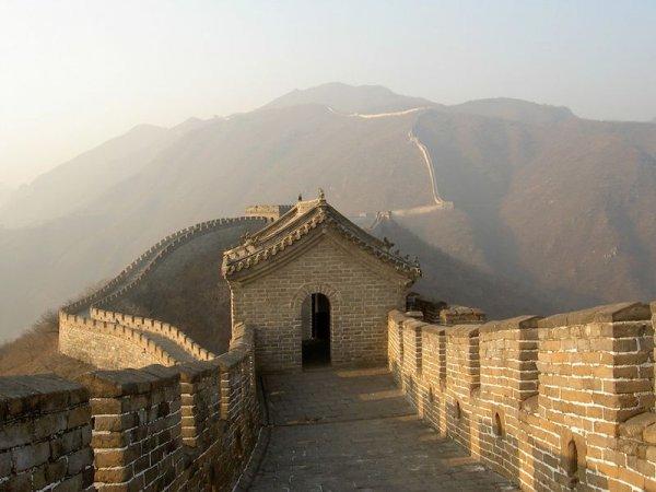 Çin Seddi'nin gücü yapışkan pirinçten geliyor #1
