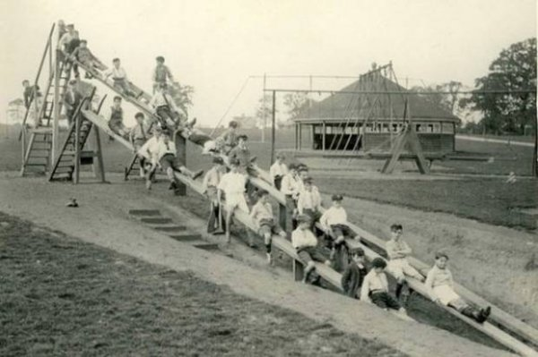 Dünyanın ilk çocuk parkları #2