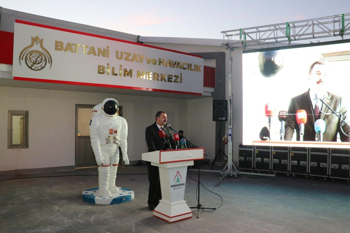 Şanlıurfa'da Uzay ve Havacılık Bilim Merkezi kuruldu #3