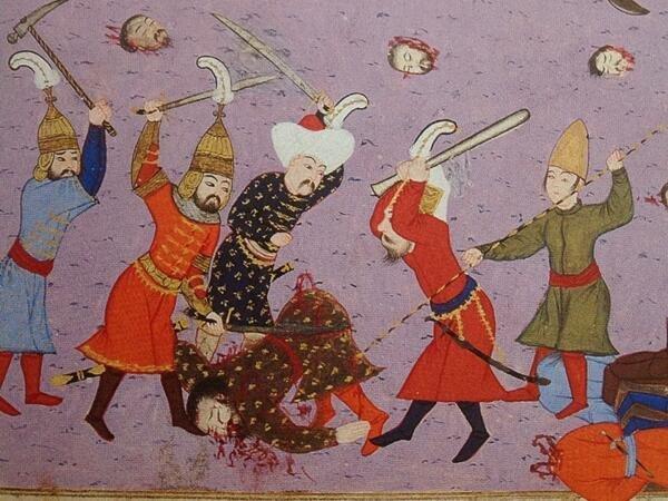 Sultan Murad ı şehit eden Sırp Miloş böyle katledilmişti #2