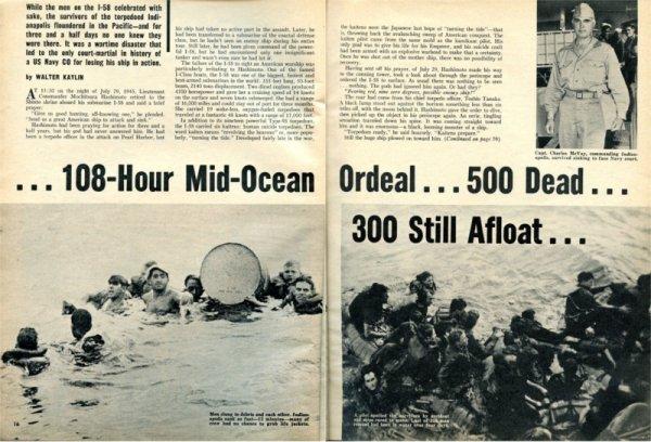 Tarihin en vahşi köpek balığı saldırısı: USS Indianapolis #5
