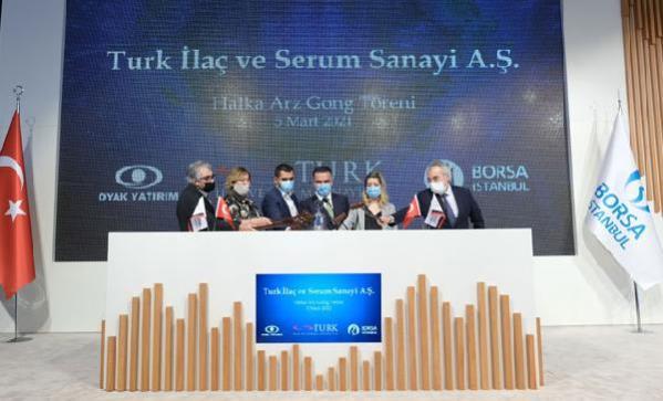 TURK İlaç ve Serum Sanayi A.Ş. halka arzına rekor talep